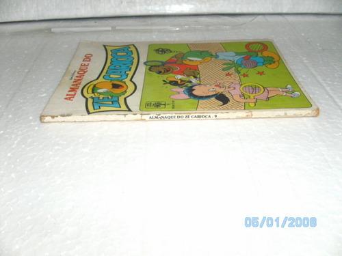 gibi almanaque zé carioca nº9 editora abril/1990 exemplar fj