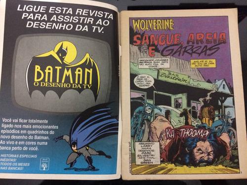 gibi antigo wolverine revolucionário 1994 colecionador raro