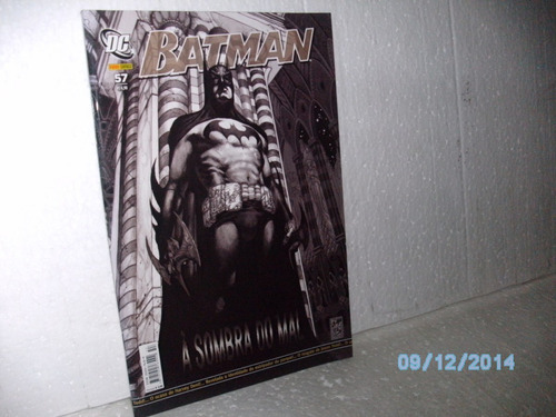 gibi - batman nº 57 - à sombra do mal! hq panini comics/2007
