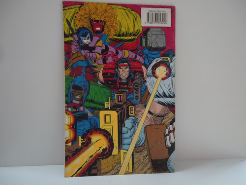 gibi cable- marvel comic- parte 1 de 2 - by trekus vintage