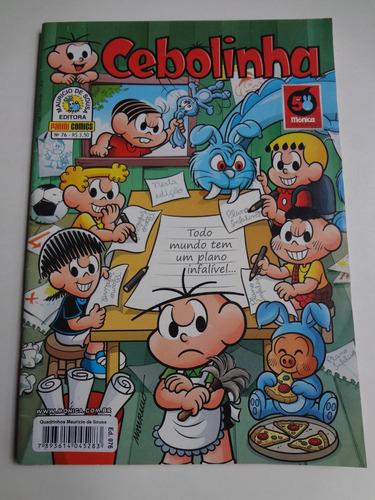 gibi cebolinha n° 76 ed. panini comics