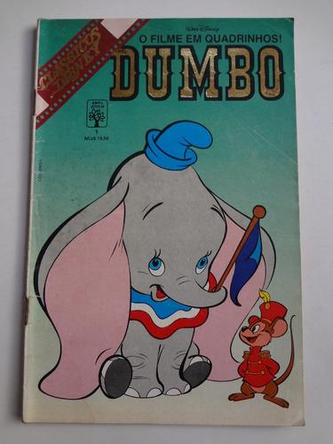 gibi clássicos disney o filme em quadrinhos ! dumbo n° 1