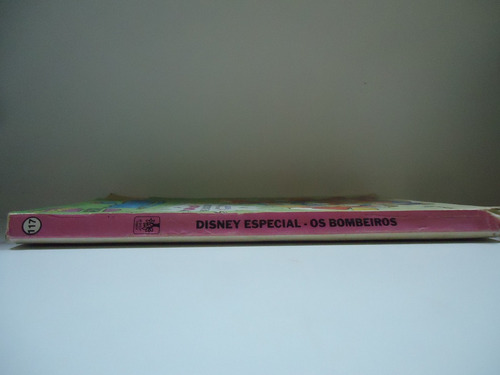 gibi disney especial - os bombeiros nº117 - novembro 89