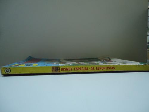gibi disney especial os esportistas nº13- dezembro 1982