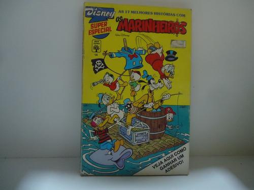 gibi disney super especial- os marinheiros nº14 - março 1992