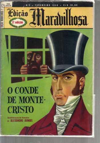 gibi ediçao maravilhosa numero 2 - o conde de monte-cristo