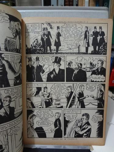 gibi edição maravilhosa nº 3 o conde de monte cristo 1967