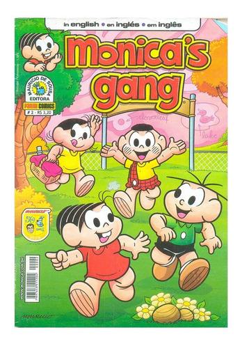 gibi em inglês turma da monica gang friends