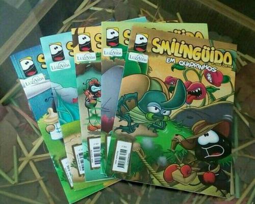 gibi em quadrinhos - smilinguido e sua turma - 30 volumes