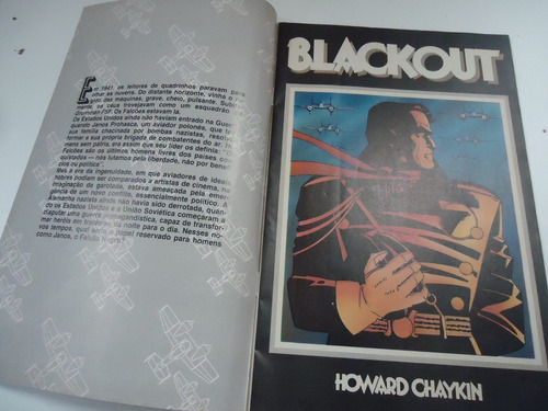 gibi falcão negro- mini série de luxo 3 - novembro 89
