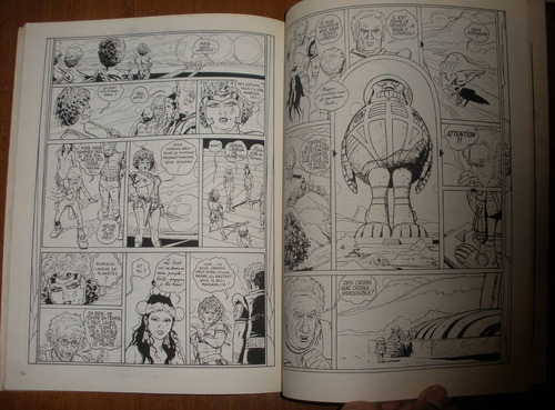 gibi ficção heróis ação quadrinhos antigo anos 70 frances