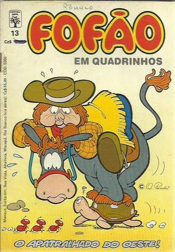 gibi fofão em quadrinhos n° 13