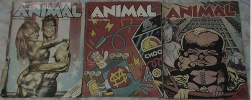 gibi hq animal nº 5,8,12, (1990 vhd diffusion)