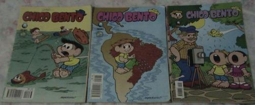 gibi hq chico bento (1987 ed globo) 12 exemplares
