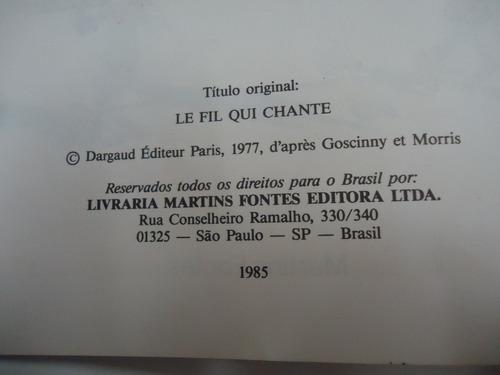 gibi lucky luke- o fio que canta- martins fontes- 1985