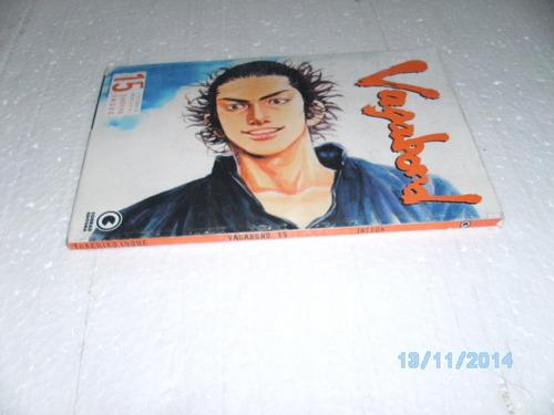gibi mangá vagabond # 15 takehiko inoue ed conrad - equpe fj