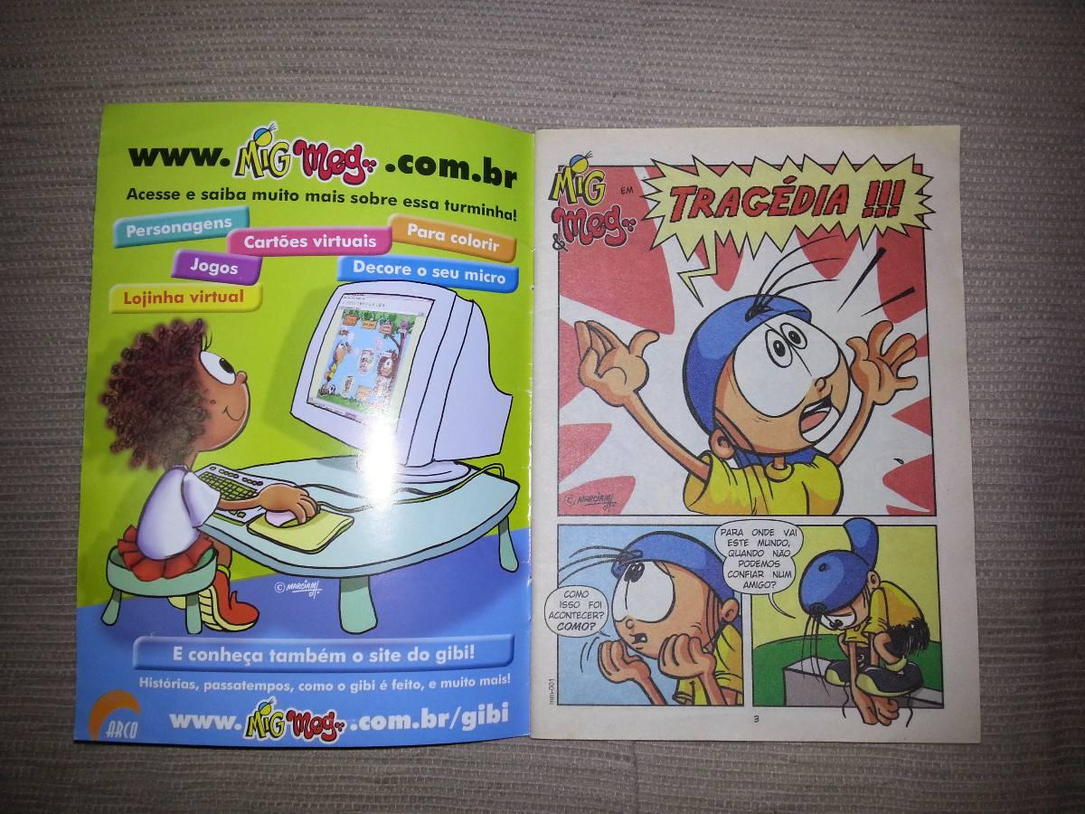 Gibi Mig Meg Nº 1 R 28 26 Em Mercado Livre