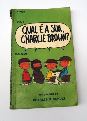 gibi qual e a sua, charlie brown? volume 5