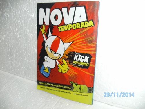 gibi revista almanaque do mickey 2 - abril/2011 - bom estado