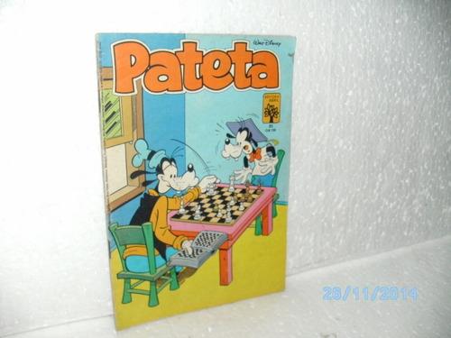 gibi revista pateta nº21 - editora abril 1983