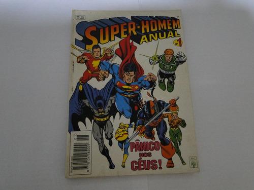 gibi super-homem anual nº 1 - ed. abril  - 1994