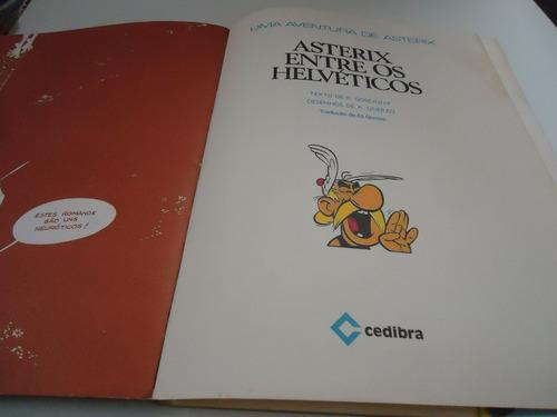 gibi uma aventura de asterix -asterix entre os helvéticosnº9