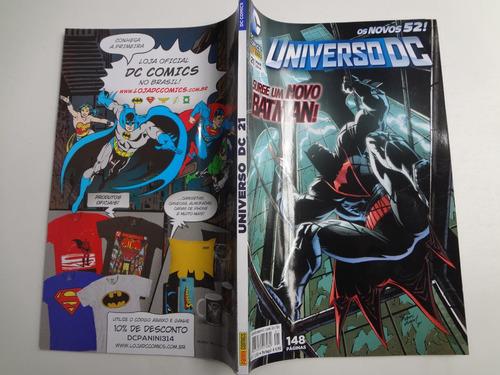 gibi universo dc os novos 52  n° 21 surge um novo batman!
