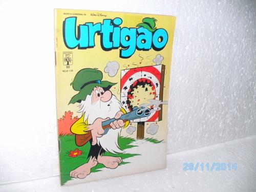gibi urtigão nº 60 - ed.abril /1989 formatinho da equipe fj!