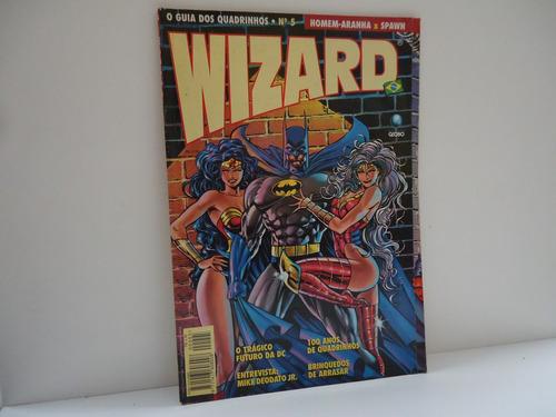 gibi wizard- o guia dos quadrinhos nº5- homem aranha x spawn