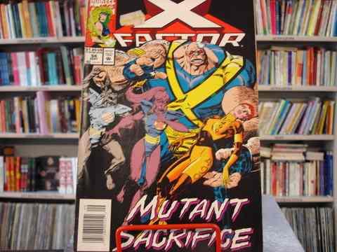 gibi x factor nº 94 - importado - em inglês - 1993