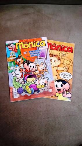 gibis monica - 2 revistas
