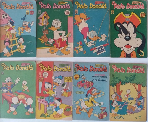 gibis pato donald 1968 disney  abril antigo e raros  4 hq