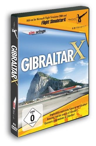 gibraltar  x (fsx/fs2004) (versión caja sellada  / original)