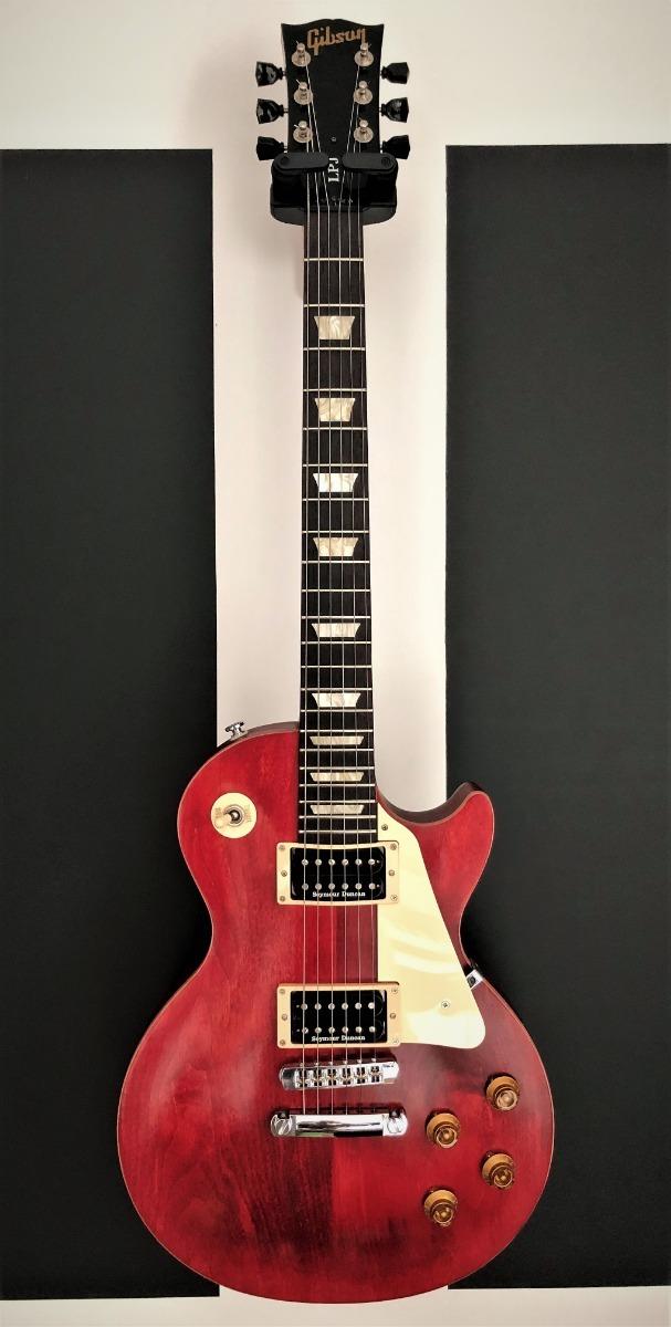 Gibson Les Paul Lpj - Cherry Com Seymour Duncan Jb/59