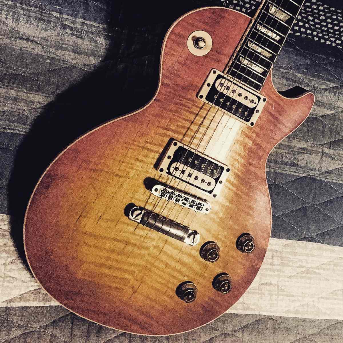 Gibson Les Paul Standard Faded 2005 Com Jimmy Page Wiring R A Carregando Zoom