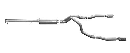 gibson performance exhaust 65648 stainless steel dual split