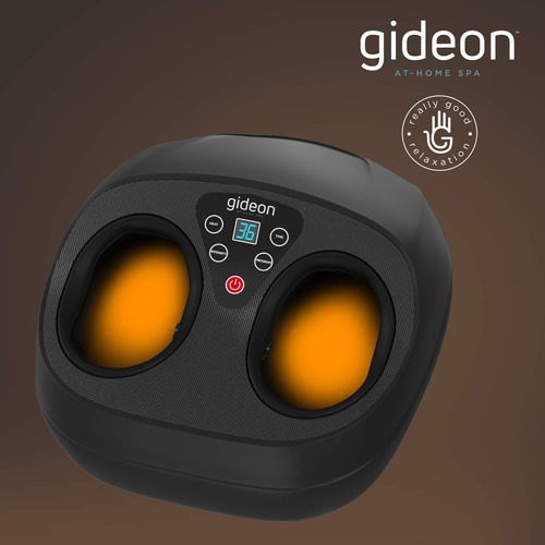 gideon thai foot massager with heat and pressure deep