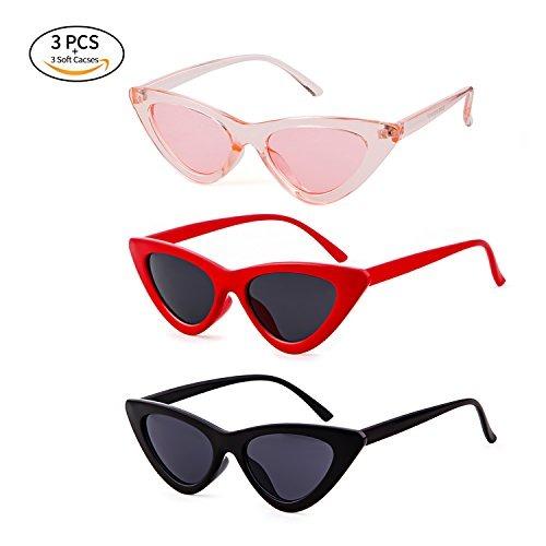 85c03a1566 Gifiore Gafas De Sol Retro Vintage Para Mujer Gafas De Aro G ...
