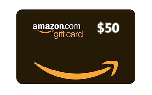 gift card amazón 50usd- dolar a 2900