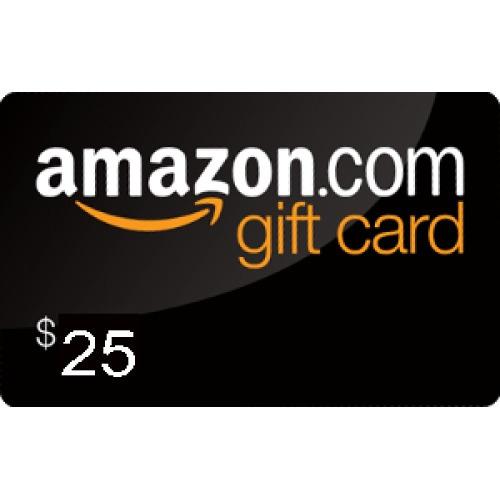 gift card amazon usd 25 r 70 00 em mercado livre. Black Bedroom Furniture Sets. Home Design Ideas