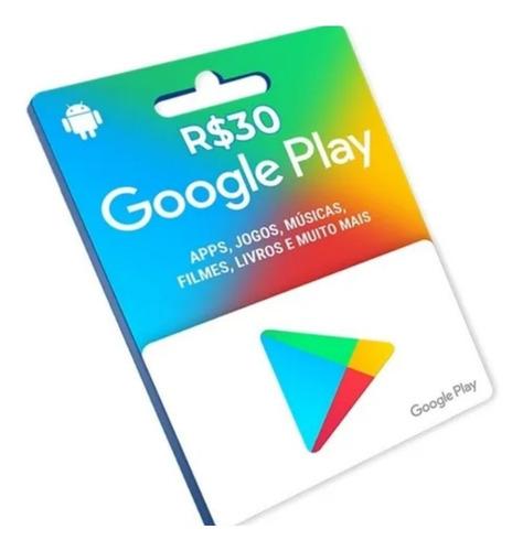 gift card google play