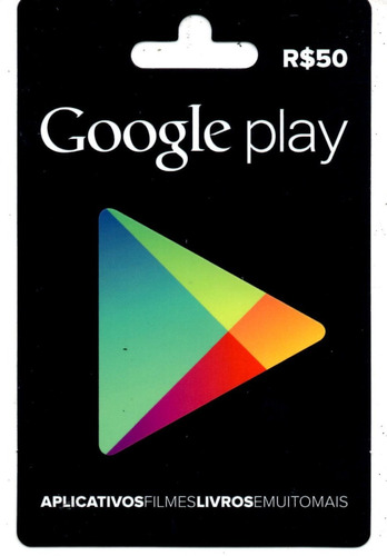 gift card google play store r$ 100 reais android brasil br