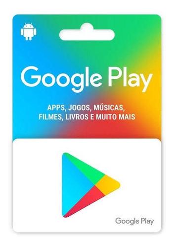 gift card r$100 google play