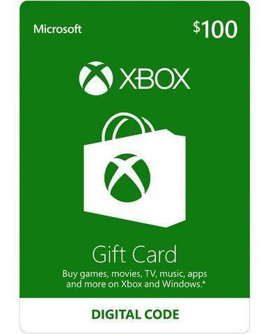 gift cards xbox