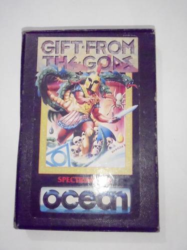 gift from the gods sinclair spectrum original caja manual