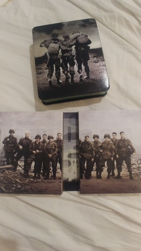 gift set blu ray digipack band of brothers lata especial