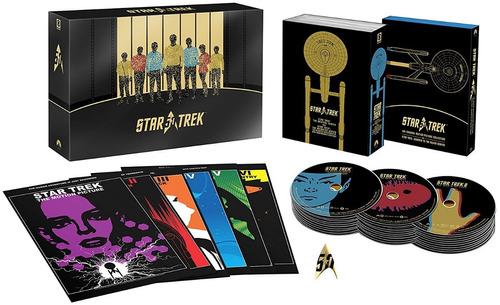 giftset blu ray star trek 50th anniversary collection novo