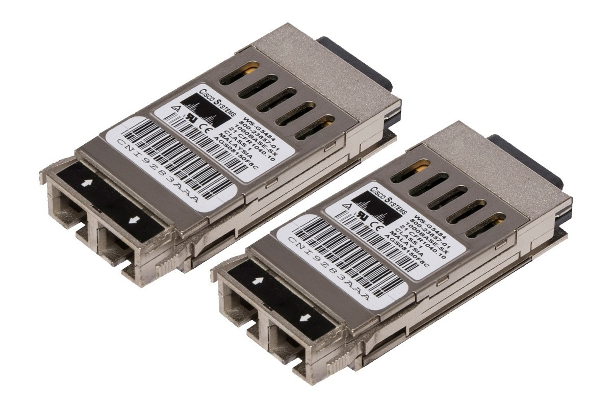 Gigabit Interface Converter Gbic Cisco 1000base Sx