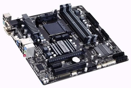 gigabyte am3 + amd ddr3 1333 760g hdmi usb 3.0 micro atx mot