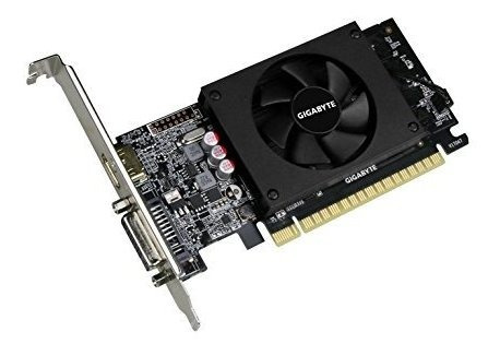 gigabyte geforce gt 7102gb tarjetas graficas y apoyo pci